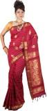 JCN Self Design Mysore Cotton Saree (Pin...