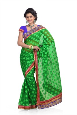 Chirag Sarees Self Design Fashion Chiffon Sari