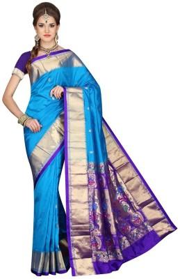 Mahila Silks Woven Paithani Pure Silk Sari
