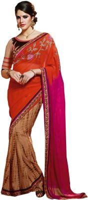 Roopleela Printed Bollywood Georgette Sari