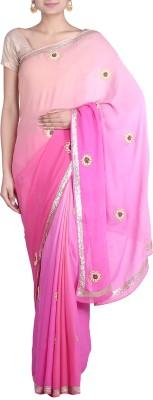 REME Embriodered Fashion Georgette Sari