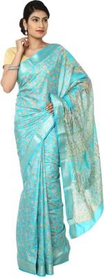 Aks Worldshop Solid Daily Wear Art Silk Sari