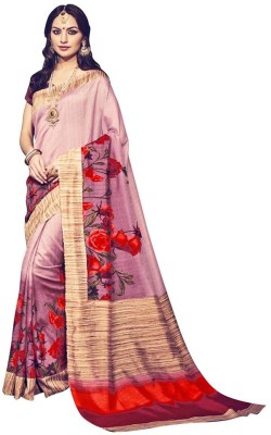 Saara Printed Fashion Silk Sari