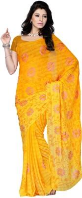 Ruda Printed Fashion Handloom Georgette Sari