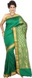 Tusk Printed Kanjivaram Handloom Silk Sa...
