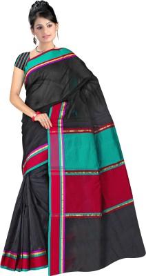 Sarees House Striped Daily Wear Cotton Sari