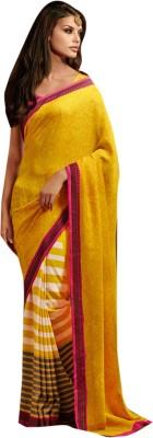 Crafts N Culture Striped Bhagalpuri Art Silk Sari