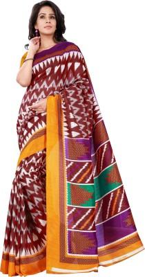 Hitansh Fashion Printed Bhagalpuri Art Silk Sari