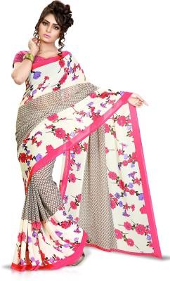 Vastrangam Printed Daily Wear Georgette Sari