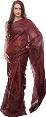 Samayra Embriodered Katha Synthetic Fabric Sari