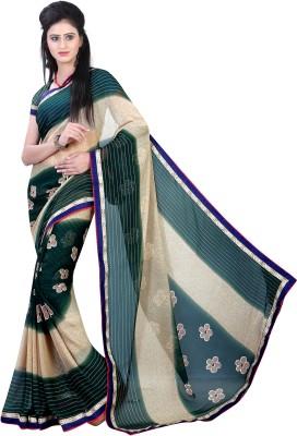 DIVINEFASHIONSTUDIO Printed Fashion Georgette Sari