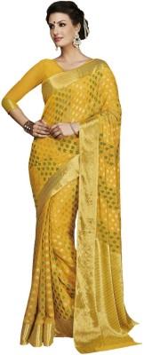 FASHION POINT Embellished Fashion Chiffon Sari