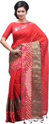 Creation Self Design Fashion Handloom Silk Cotton Blend Sari