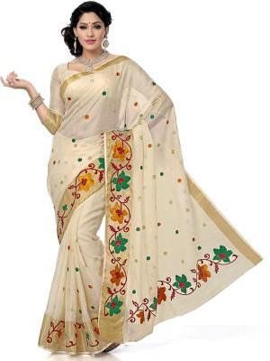Arjuns Embriodered Banarasi Banarasi Silk Sari