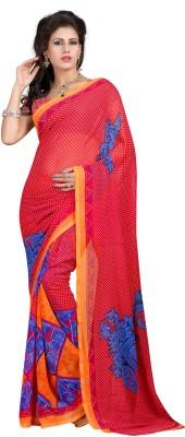 Windfeb Printed Fashion Georgette Sari