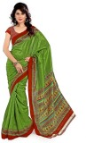 Cenizas Solid Fashion Art Silk Saree (Gr...