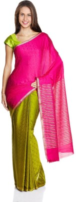 Parchayee Printed Fashion Crepe Sari
