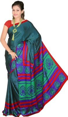 Fashion Tadka Printed Fashion Satin Sari