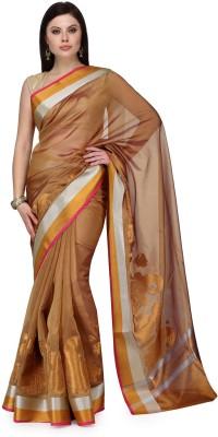 Shad Banarsi Woven Banarasi Banarasi Silk Sari(Gold)