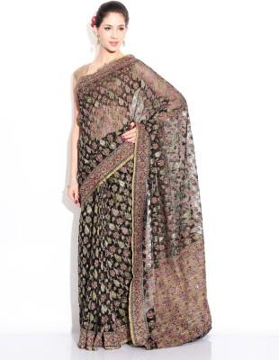Zain Textiles Woven Banarasi Net Sari