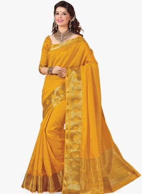 Radhika Creation Embellished Fashion Tussar Silk Sari