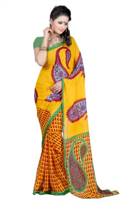 Sanskar Fashion Printed Fashion Chiffon Sari
