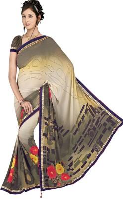 Janya Self Design Kumbakonam Georgette Sari