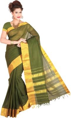 Right Shape Solid Ilkal Handloom Cotton Sari