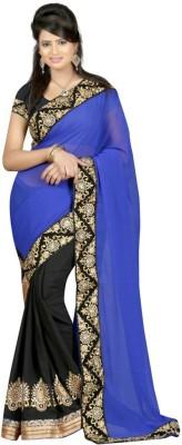 prakashmalaviya Self Design Bollywood Handloom Pure Georgette Sari