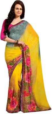Vipul Printed Daily Wear Georgette Sari