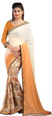 Bluebirdimpex Embriodered Bollywood Georgette Sari