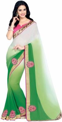 Ganes Embriodered Fashion Georgette Sari