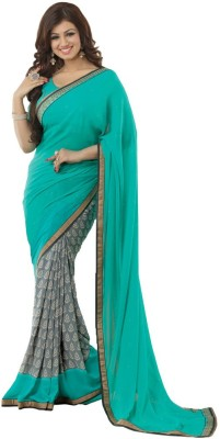 Pehnava Printed Bollywood Georgette Sari