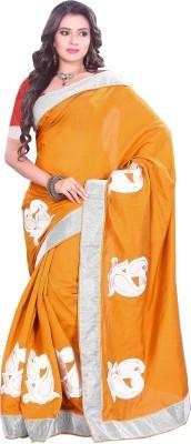 Swaman Embriodered Bhagalpuri Silk Cotton Blend Sari