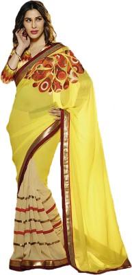 FabDesire Printed Fashion Georgette Sari