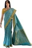 Lakshmi Lifestyle Kanchipuram Silks Self...