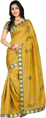 Vandvshop Embriodered Bhagalpuri Silk Sari