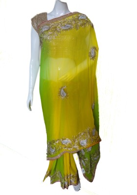 SanSaree Self Design Fashion Viscose Sari