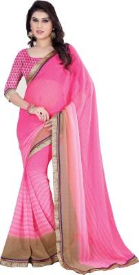 Fashionbeauty Self Design Bollywood Chiffon Sari