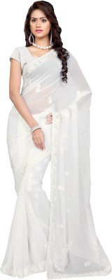 Shama Embriodered Daily Wear Georgette Sari
