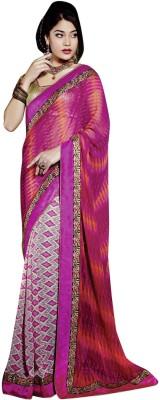 Vibes Printed Fashion Georgette Sari