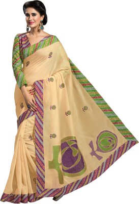 Dhruvi Boutique Embriodered Fashion Cotton Sari