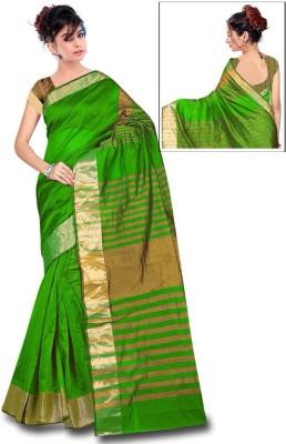 Bhargav Sarees Woven Bhagalpuri Cotton Linen Blend Sari