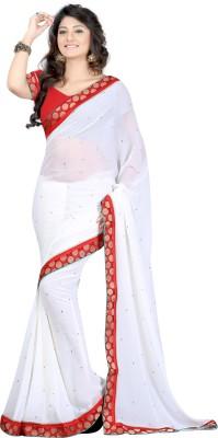 Budget Vastra Printed Fashion Chiffon Sari