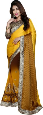 Shree Vardhman Embriodered Bollywood Georgette Sari