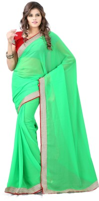 Azara Lifestyle Self Design Bollywood Chiffon Sari