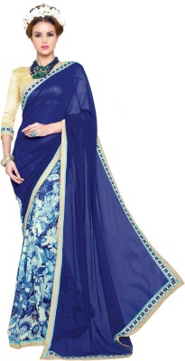Fabliva Printed Fashion Georgette Sari