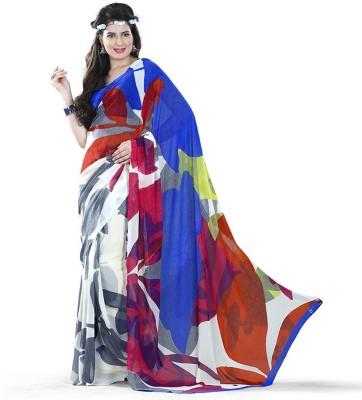 Aracruz Printed Fashion Georgette Sari