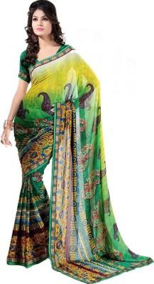 Imago Printed Fashion Printed Silk Sari