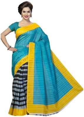 MAHESH TRADERS Printed Bollywood Art Silk Sari